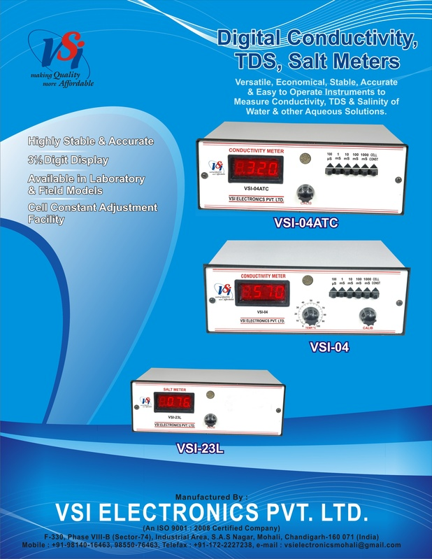 Front of Digital Conductivity/TDS/Salt Meters Leaflet